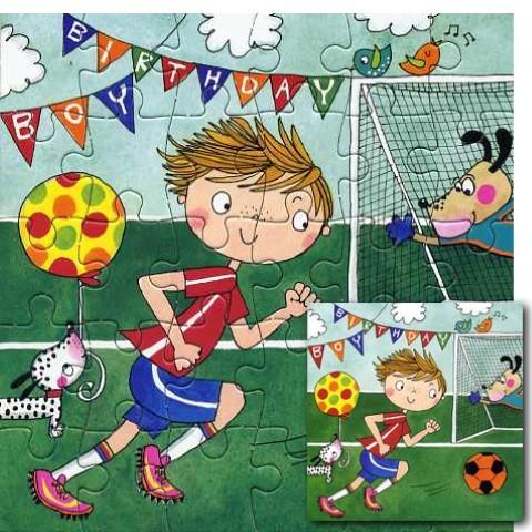 Umschlagk. Puzzle H.B. Football