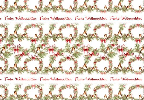 Weihnachtsvögel 50x70