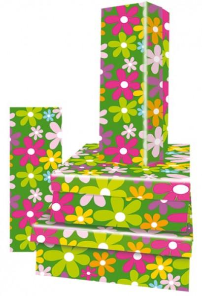 Rechteck Just Flowers 4tlg.