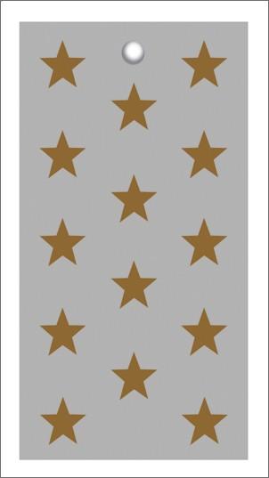 Tags Grey Gold Stars