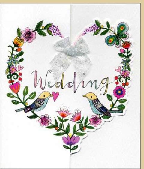 Umschlagk. Wedding Birds