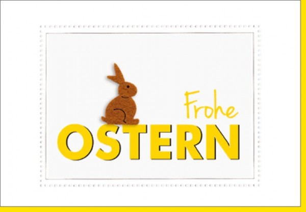 Umschlagk. Frohe Ostern