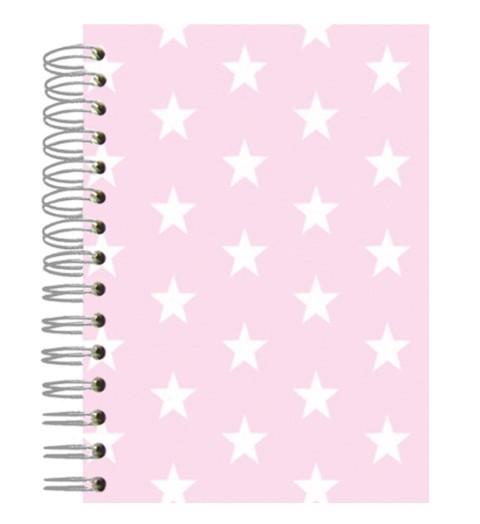 Buch A5 Rose Stars