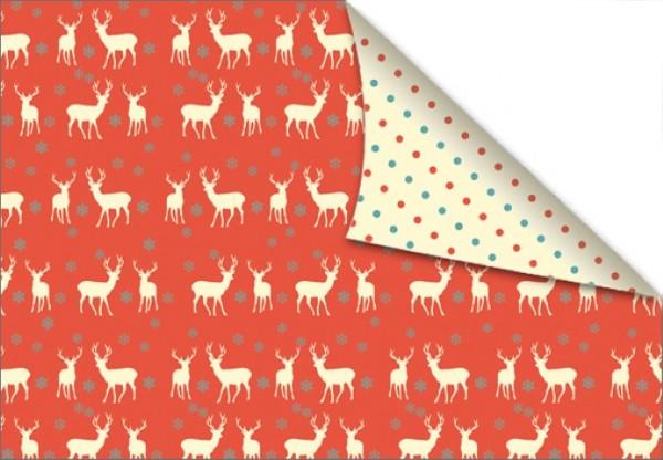 Reindeers & Dots 50x70