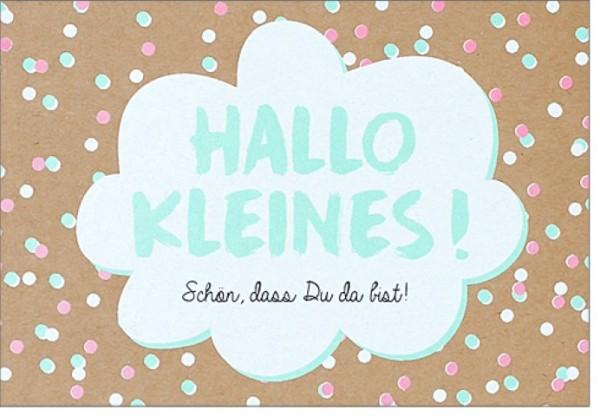 Umschlagk. pp Hallo Kleines