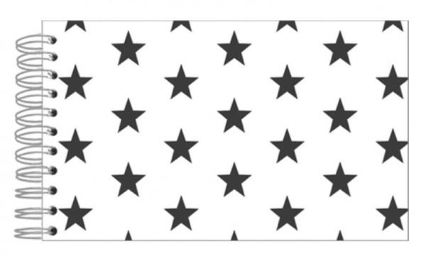 Fotoalbum 13x18 Black Stars