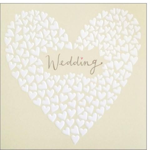 Umschlagk. Wedding Herzen
