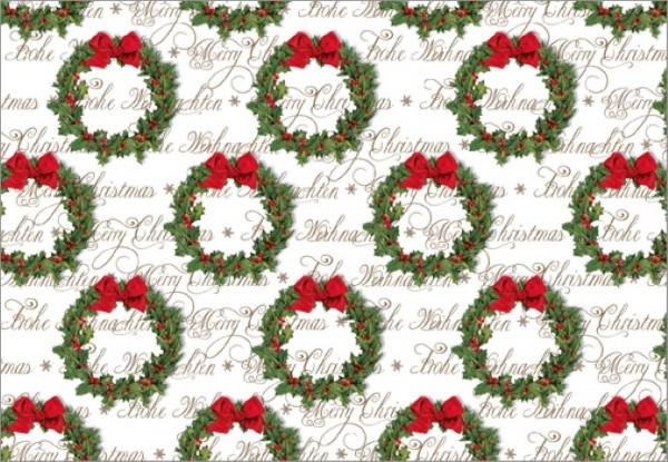 Weihnachtskranz 50x70