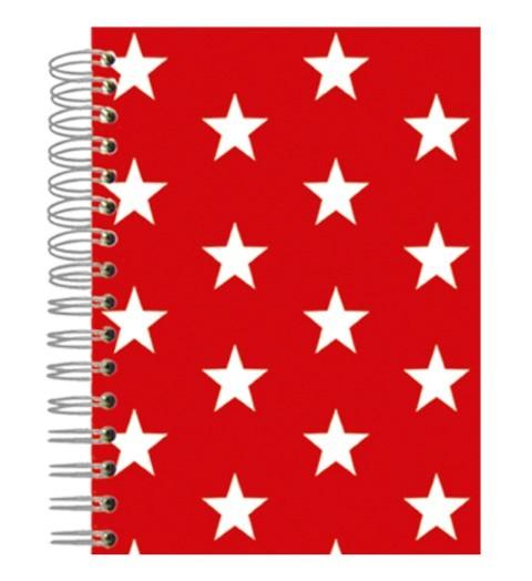 Buch A5 Red Stars