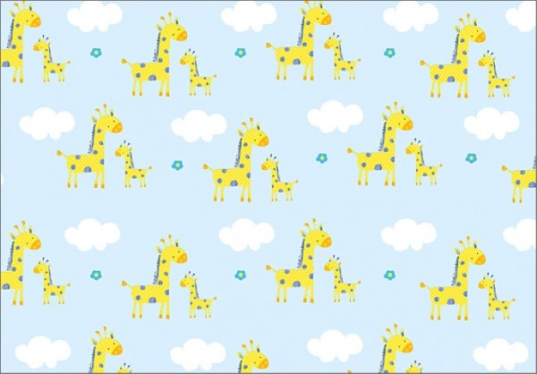 Baby Giraffen 50x70