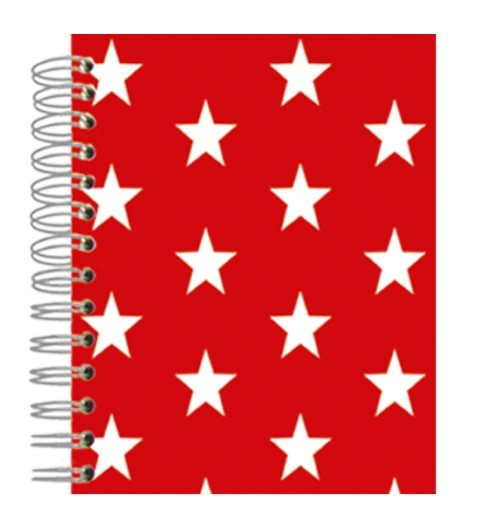 Buch 12x15 Red Stars