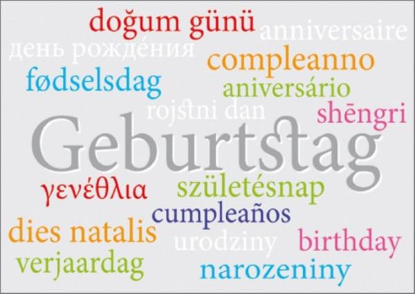 Postk. Geburtstag