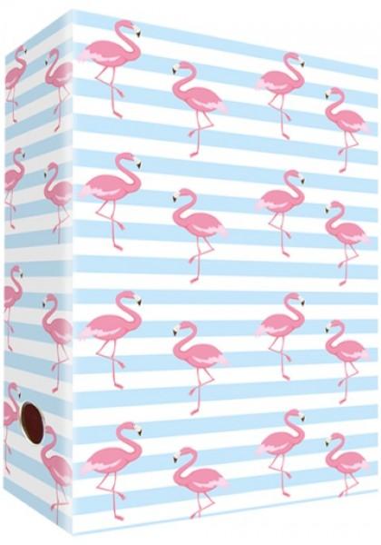 Ringordner A4 Flamingo