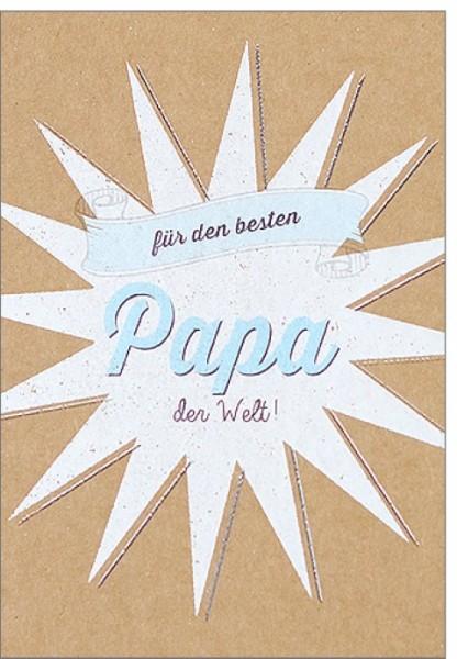 Umschlagk. pp bester Papa der Welt