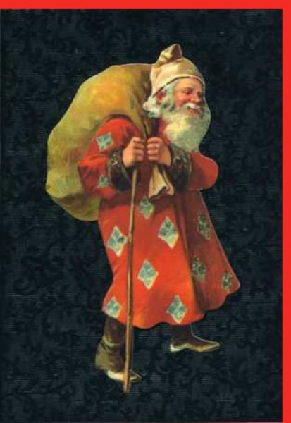 Umschlagk. Santa with Diamond Coat