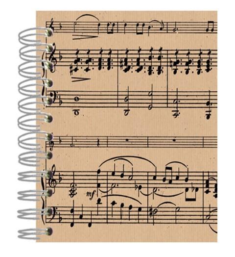 Buch 12x15 Music Sheet black