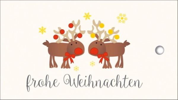Tags Rudolph Frohe Weihnachten
