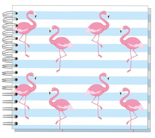 Fotoalbum 24x24 Flamingo