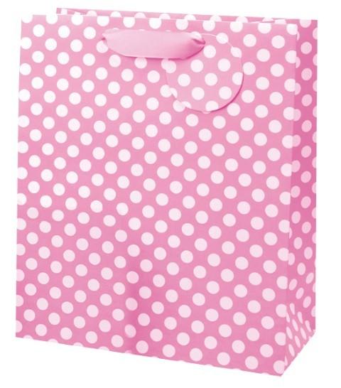 Pink Spots Bag large