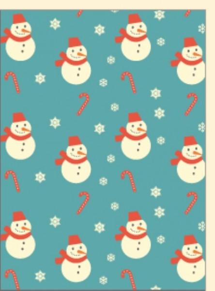 Minik. Vintage Schneemänner