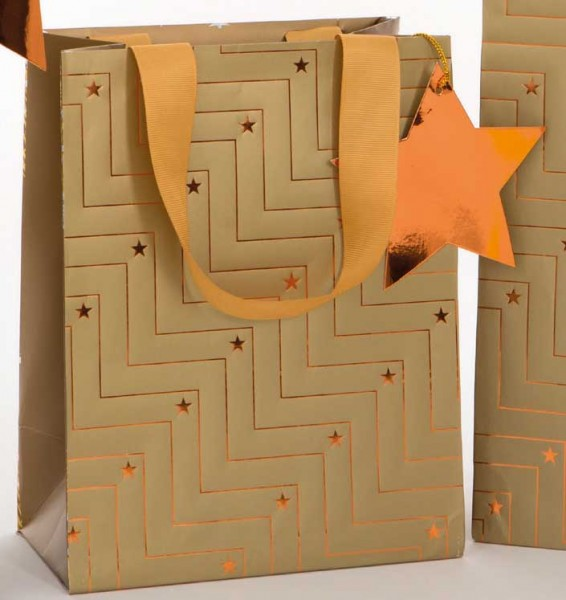 Gold Stern Bag medium