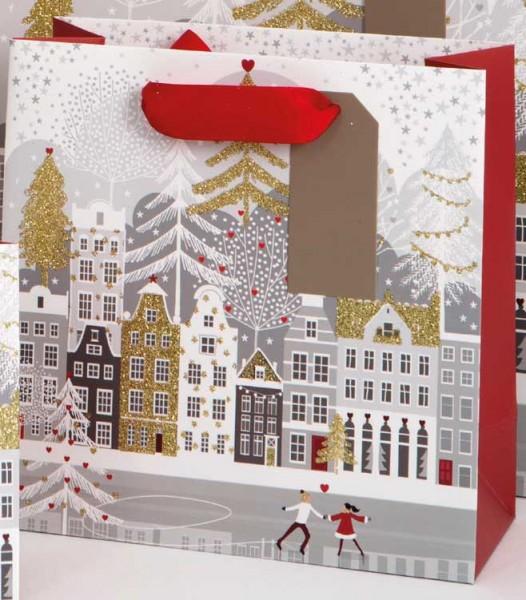 Weihnachtsdorf Bag medium