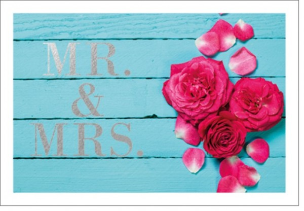 Umschlagk. LM Mr. & Mrs. Rosen