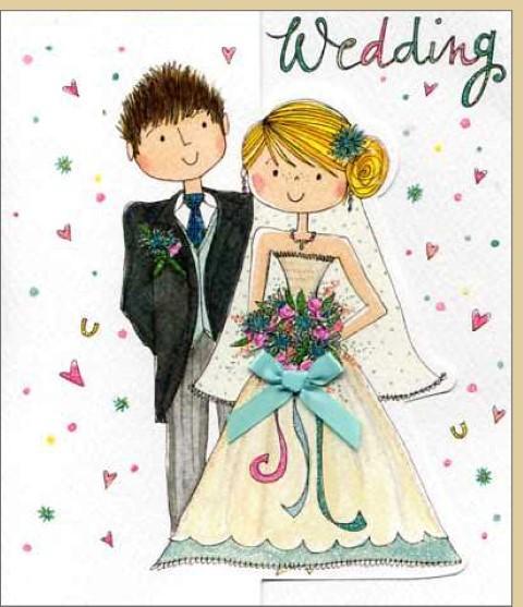 Umschlagk. Wedding Couple