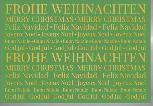 Umschlagk. Green Christmas United