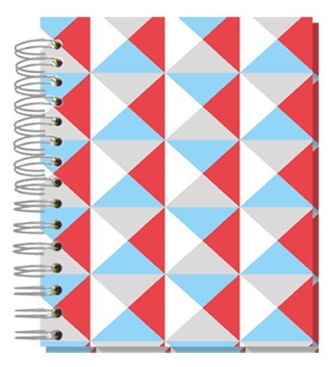 Buch12x15 Bunte Dreiecke