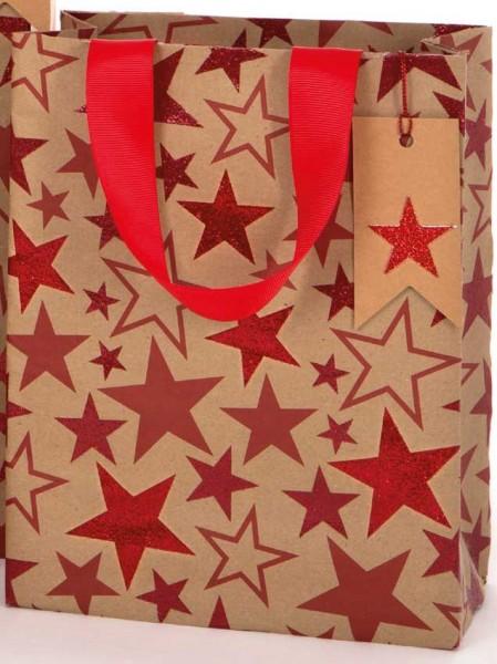 Sterne Kraft Glitzer Bag medium