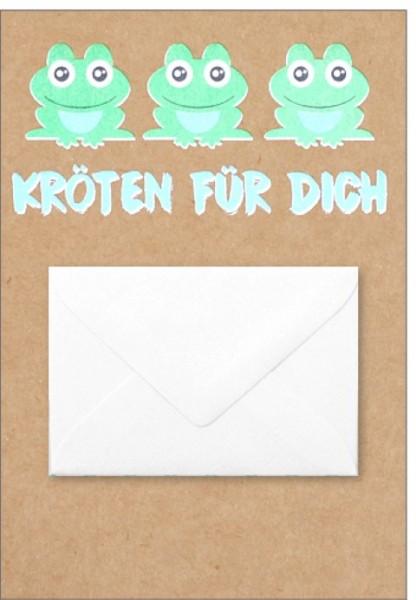 Umschlagk. pp Kröten für Dich Umschlag