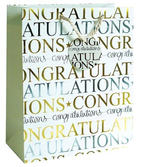 Congratulations Bag medium
