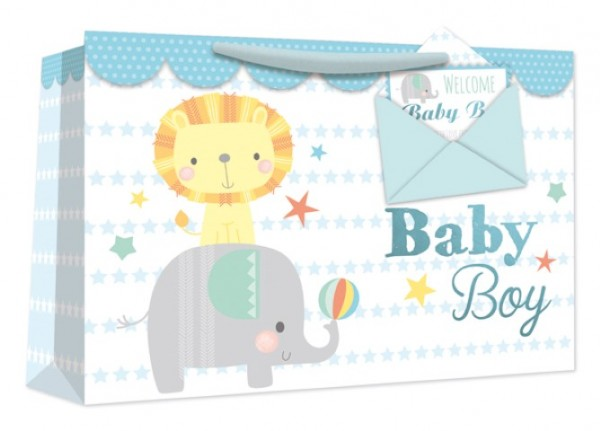Babyboy Bag mit Briefumschlag Medium