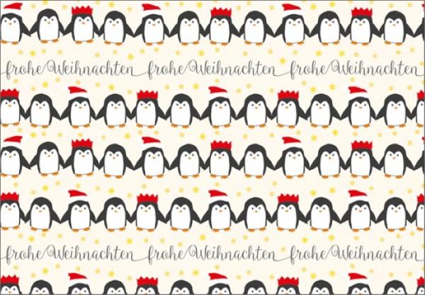 Pinguinreihe 50x70