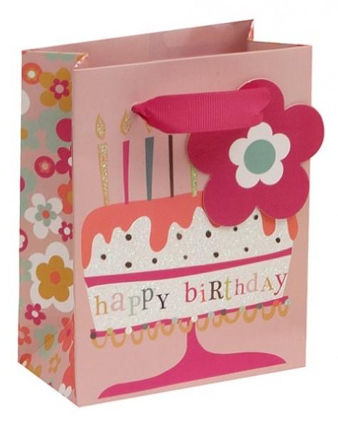 Happy Birthday Cake Bag mini