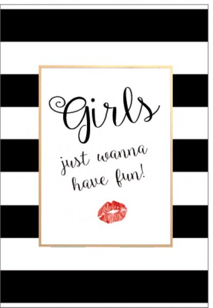 Umschlagk. Girls Just Wanna