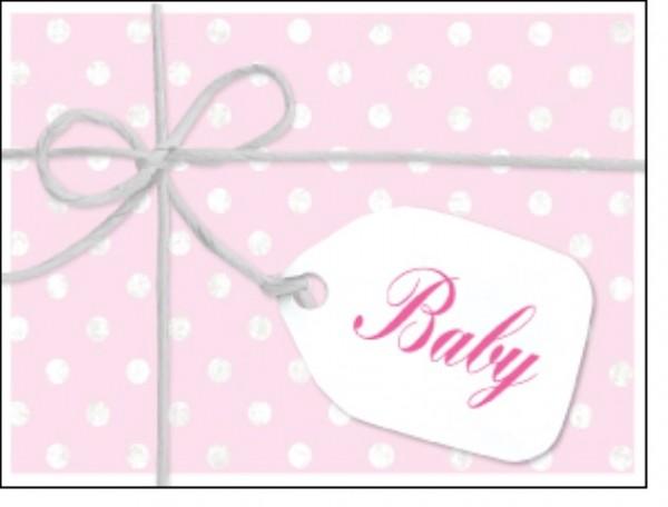 Minik. Schleife Baby rosa