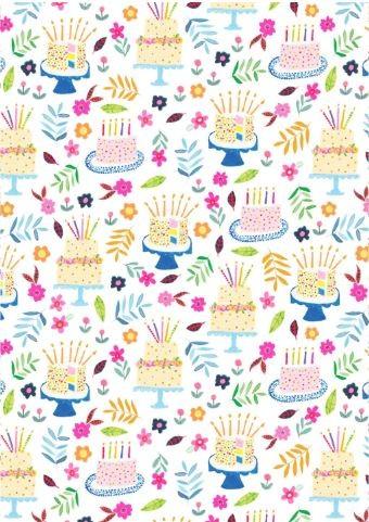 Geschenkp. Geburtstagskuchen