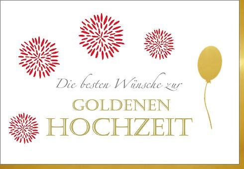Umschlagk. gold Hochzeit