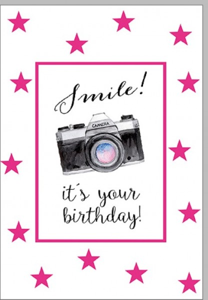 Umschlagk. Smile - Its your Birthday