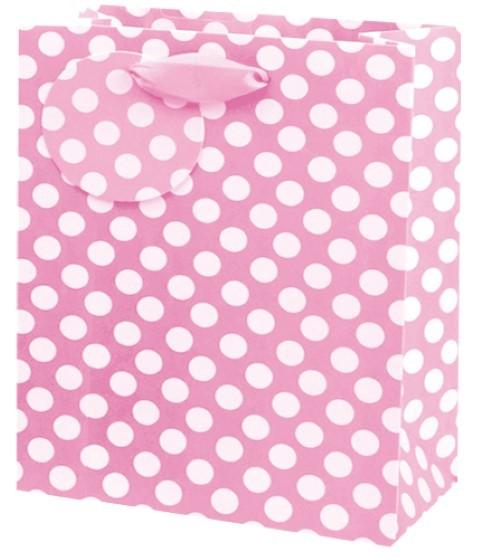 Pink Spots Bag medium