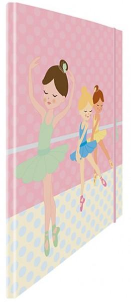 Eckspannmappe Ballerina