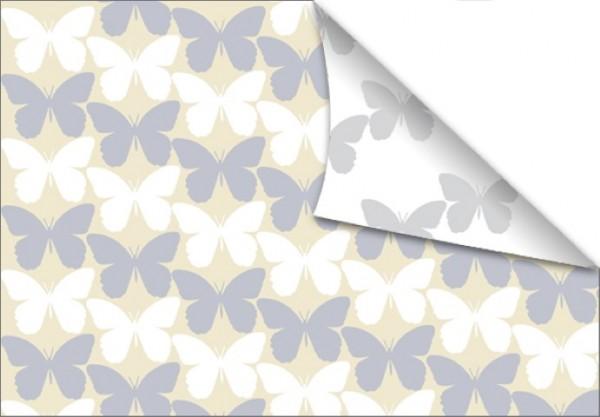 Mariposa blanca 50x70