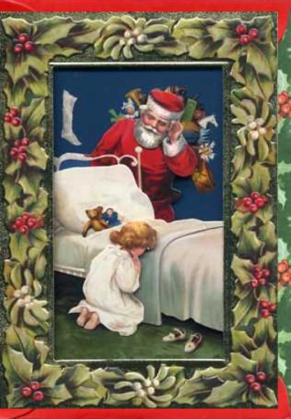 Umschlagk. Santa & Kind